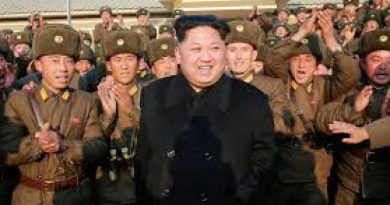 North Korean leader Kim Jung Un