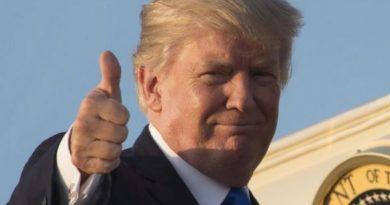 US President Trump, resized