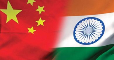 Flags of India and China