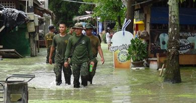 Resized floods in Satun
