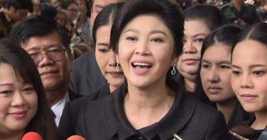 Resized, former prime minister Yingluck Shinawatra