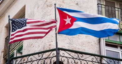 Resized,US and Cuba flags