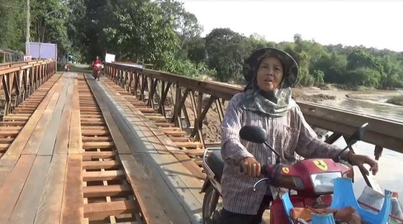Bailey bridge Chiang Mai