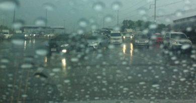 Bangkok rainstorm