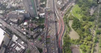 Bangkok traffic paralyzed Oct ober 2017