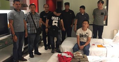 Drug trafficker arrested Pattaya hotel