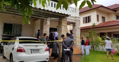 Family shot dead