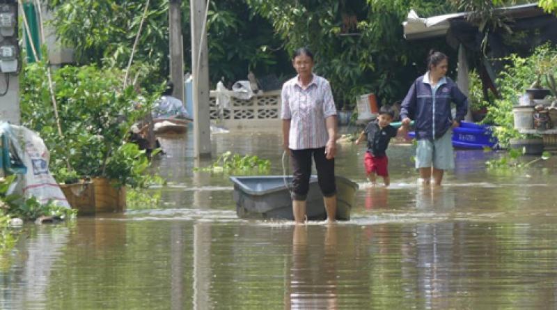 Floodwater Thailand