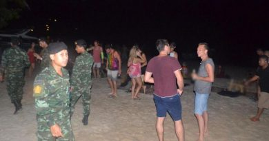 Full Moon Party raid