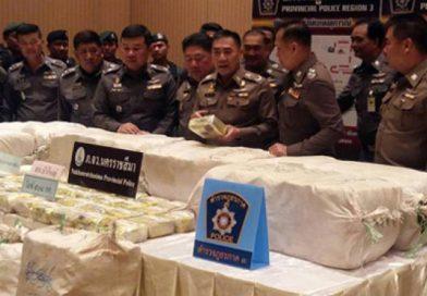 508 kg Ice worth over 10 billion baht seized