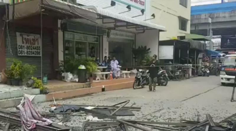 Laundry shop blast