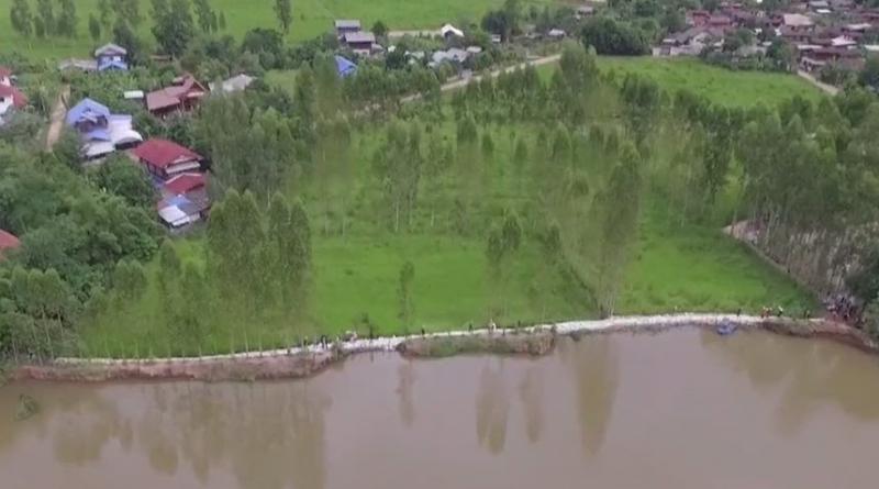 Maha Sarakham flood wall