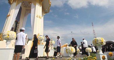 Mourning Nakhon Si Thammarat