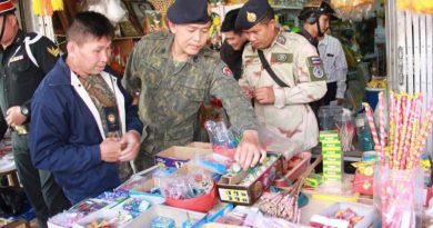 Crackdown on firecracker sale