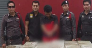 Ganja seized in Songkhla