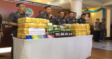 Massive drug haul