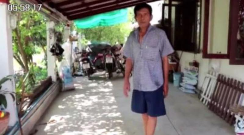 Paralyzed man walks again