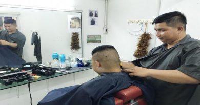 Police hair cut