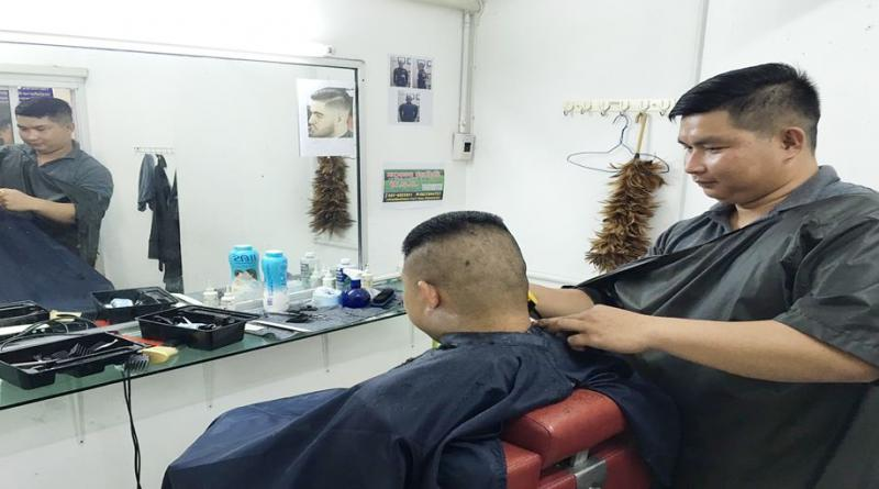 Policemen Rush To Get A Haircut After Being Ordered To Do So