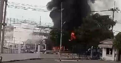 Tanker blast