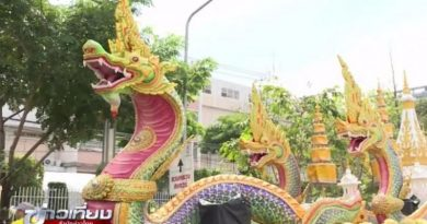 Thai tourism float