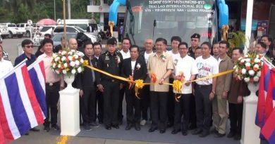 Thailand-Laos bus service