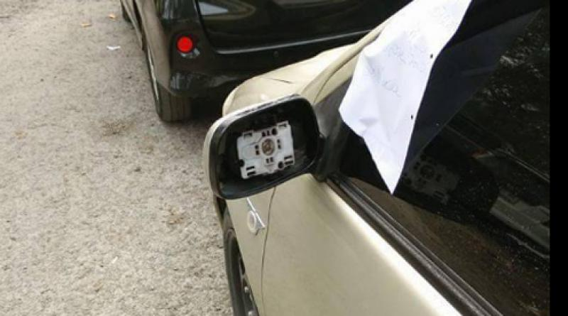 Wing mirrors stolen