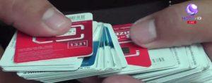 SIM cards seized
