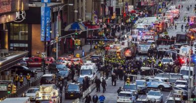 Security after bombing in New York (2)