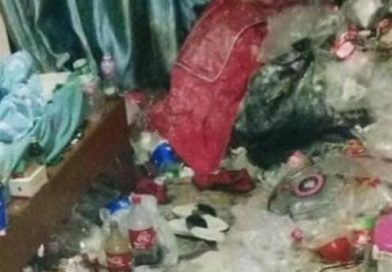 Young man's messy flat shocks netizens