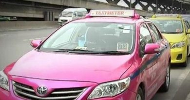 Two Bangkok cabs