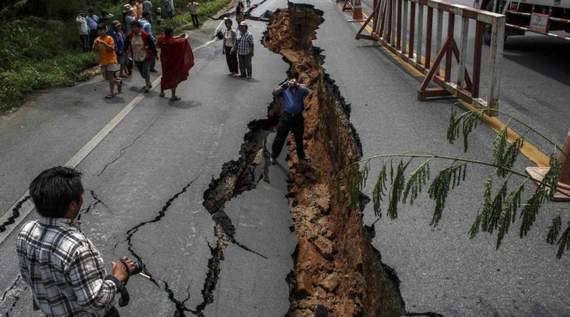 Earthquake in Chiang Rai