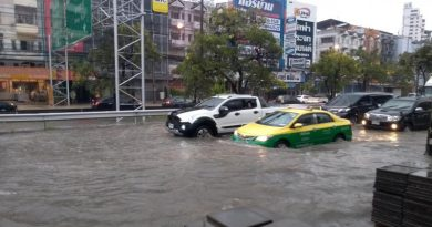 Flooded Bangkok