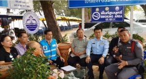 No smoking Thai beaches