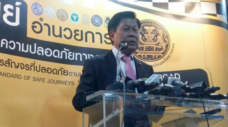 Resized deputy interior minister Suthee