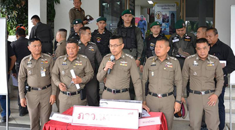 Thai police resized