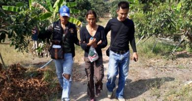 Thai wife of murdered Italian man arrested resized