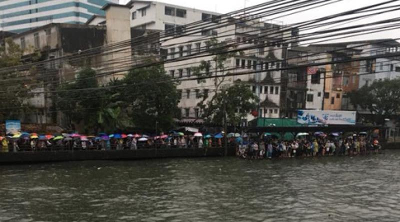 boat commuters stranded