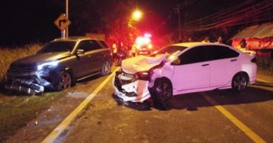 car crash Phuket