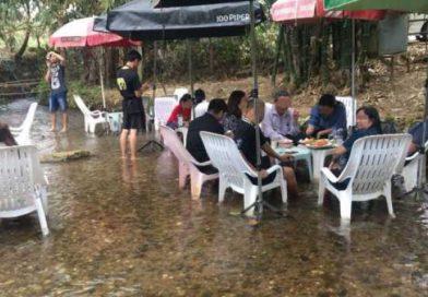 Restaurant in the woods shut down