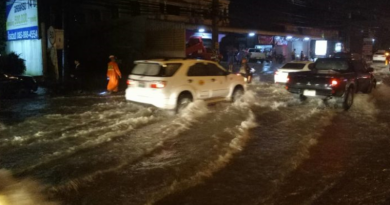 Floods in Phuket, Feb 20