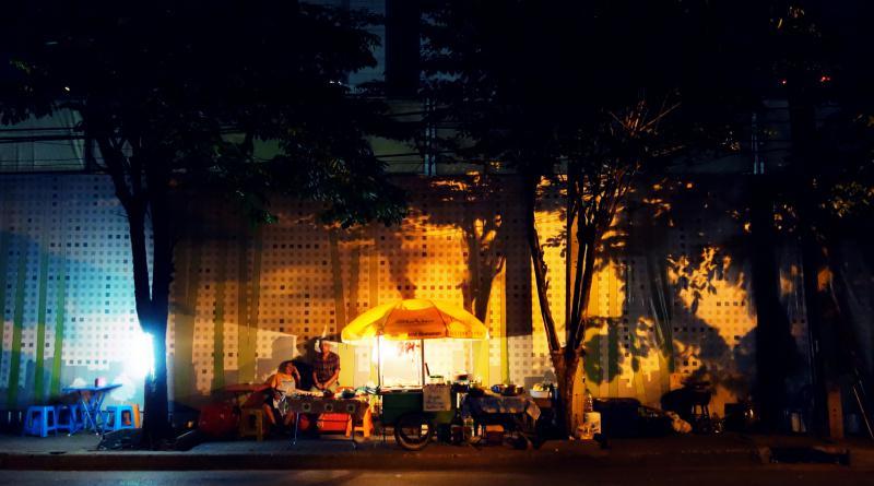 Food stall soi St Louis 3 Bangkok