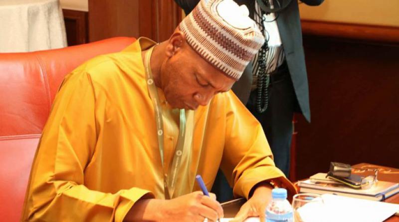 Gambian tourism minister Hamat Bah