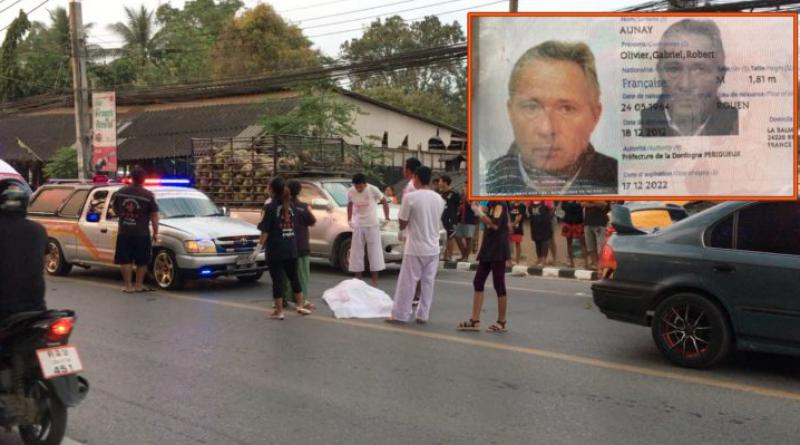 Photo Frenchman dies Koh Samui crash