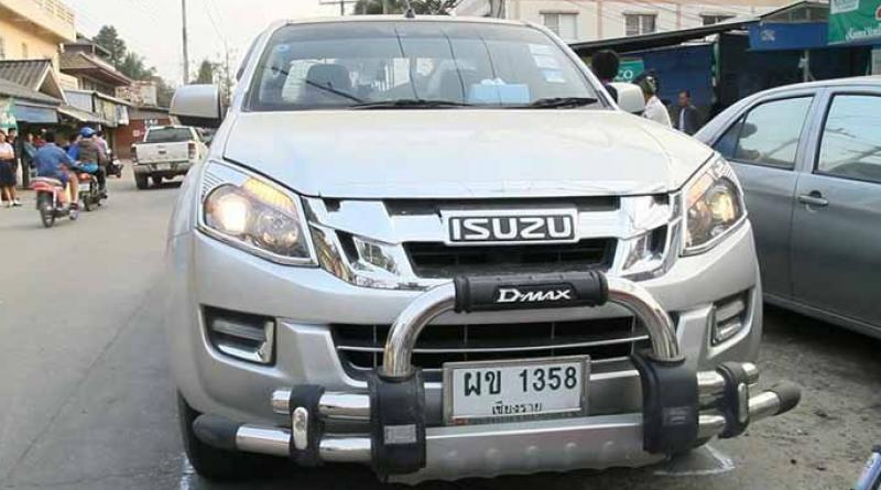 Road death in Chiang Rai