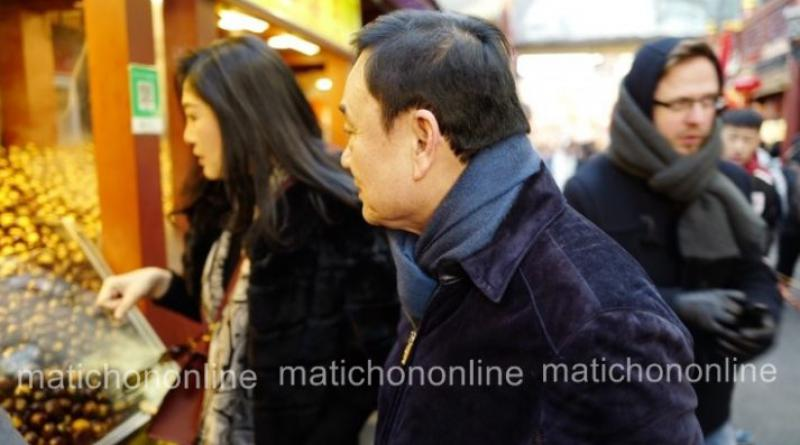 Thaksin and Yingluck in Beijing