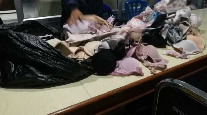 Underwear seized from thief