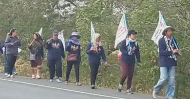 We Walk march