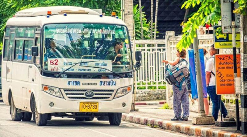 Buses in Chiang Mai