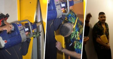 Dubai tourist stuck in Pattaya hotel lift